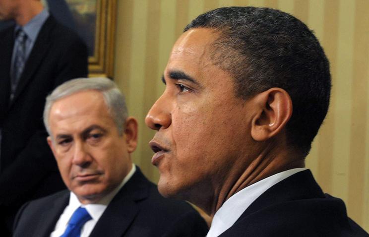 Биньямин Нетаньяху и Барак Обама (слева направо)