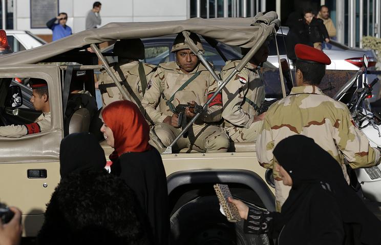Военнослужащие египетской армии