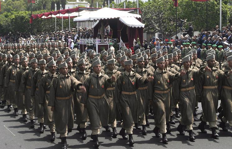 Солдаты марокканской армии. Архив