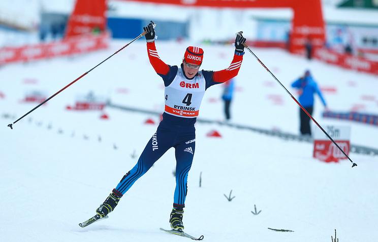 Юлия Чекалева на Х этапе Кубка мира по лыжным гонкам
