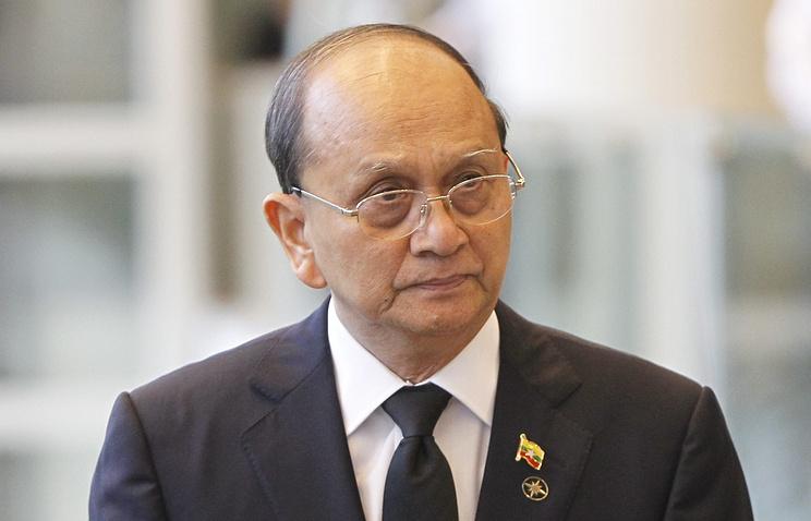 Президент Мьянмы  Тейн Сейн