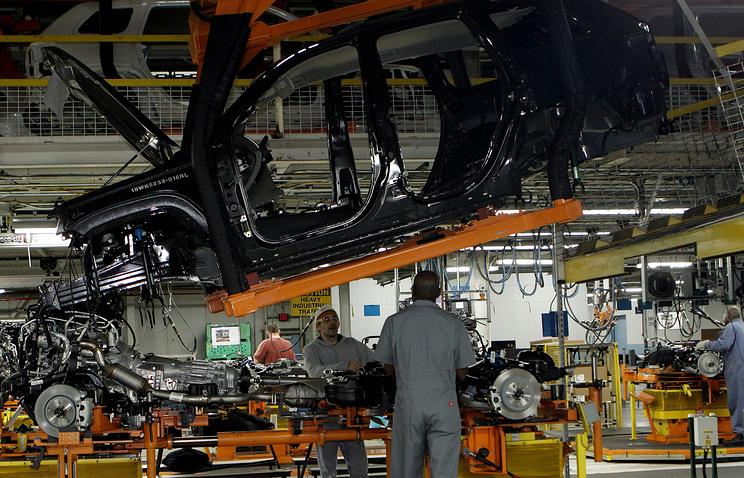 Сборка Jeep Grand Cherokee на заводе Chrysler в Детройте