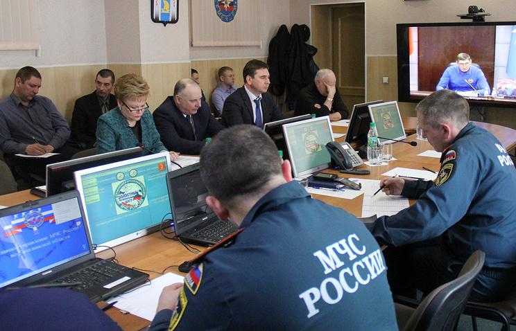 """Заседание правительственной комиссии по спасательной операции траулера """"Дальний Восток"""""""