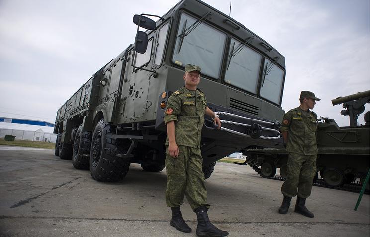 """Оперативно-тактический ракетный комплекс """"Искандер-М"""""""