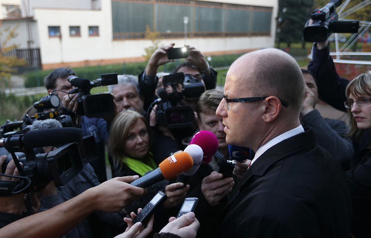 Премьер-министр Чехии Богуслав Соботка