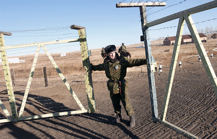 """Погранзастава """"Шахалинор"""", которая находится на стыке трех границ: России, Китая и Монголии"""