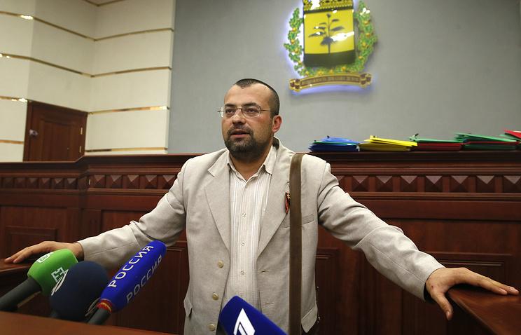 Министр иностранных дел ДНР Александр Кофман