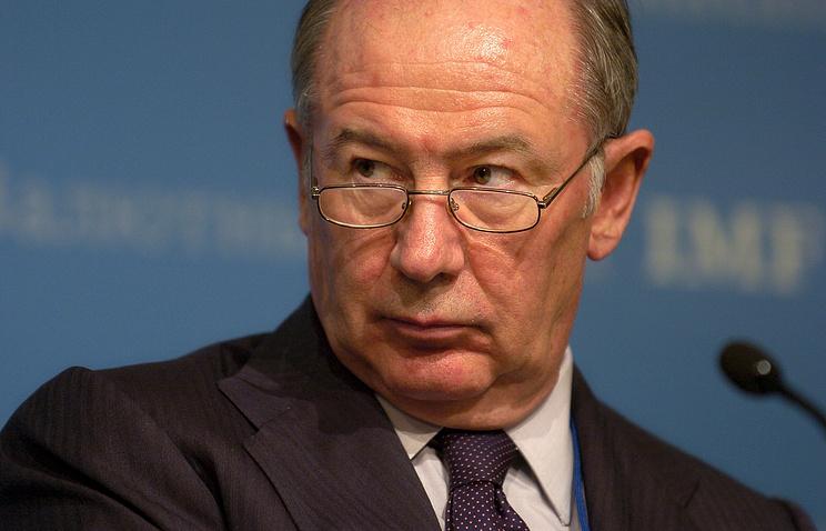 Бывший вице-премьер Испании, директор-распорядитель МВФ и президент банка Bankia Родриго Рато