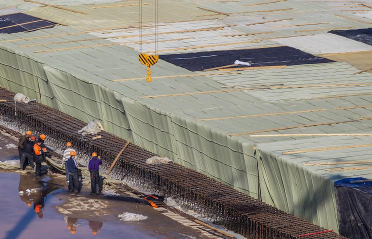 Строительство стадиона к чемпионату мира по футболу 2018 года в Самаре