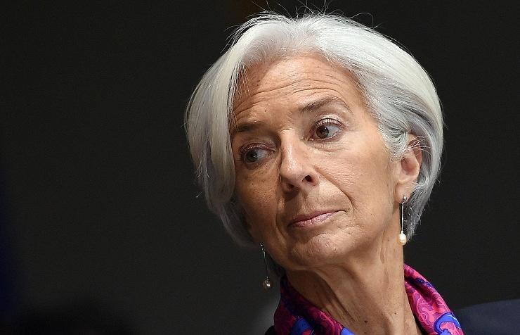 Директор-распорядитель МВФ Кристин Лагард