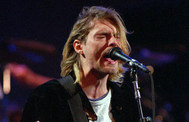 Курт Кобейн,1993 год