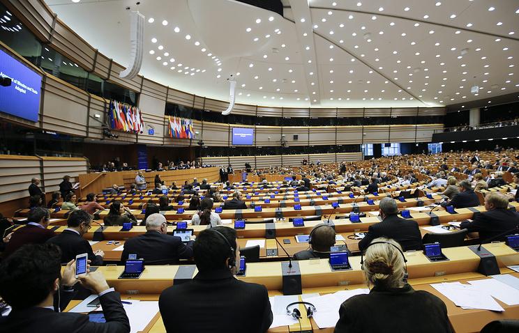 Cессия Европарламента в Брюсселе