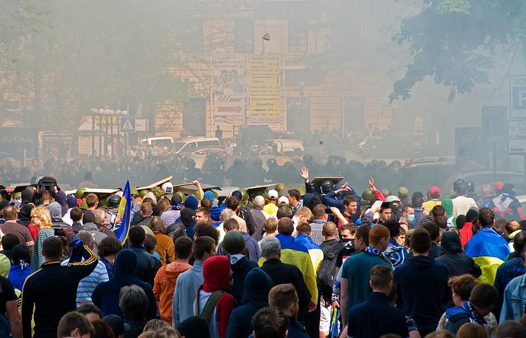 Массовые беспорядки в Одессе, 2 мая 2014
