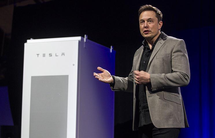 Презентация батарей компании Tesla