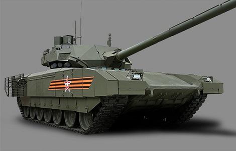 "Танк Т-14 на тяжелой гусеничной платформе ""Армата"""