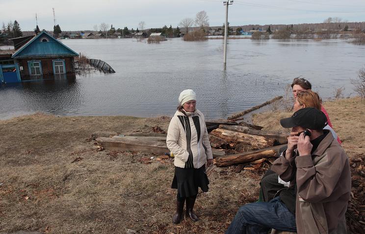 Паводковая ситуация в Омской области