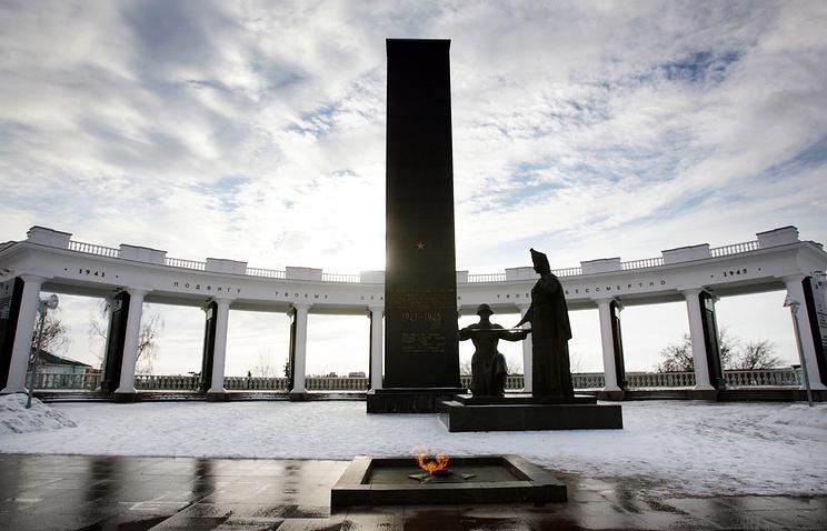 Монумент Вечной славы в Саранске