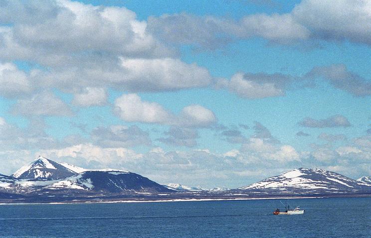 США. Алеутские острова (Аляска)