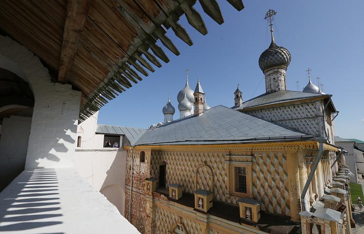 На территори Ростовского кремля