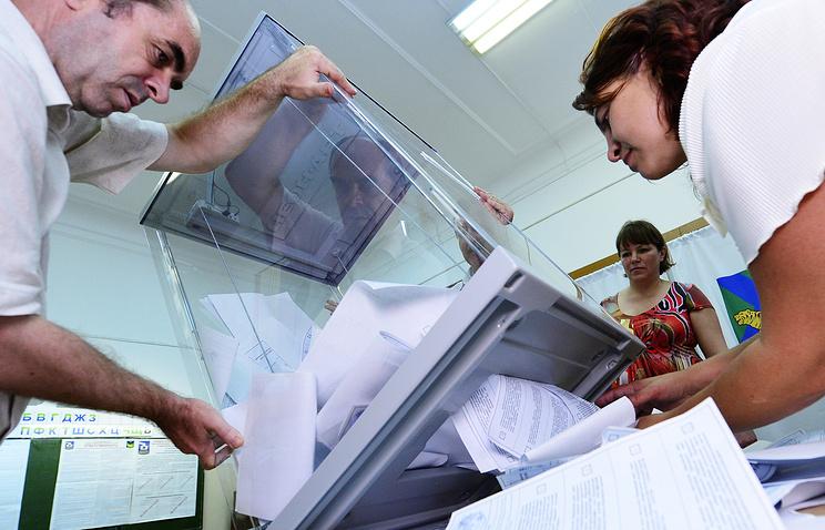 Подсчет голосов на выборах губернатора Приморского края, 2014 год