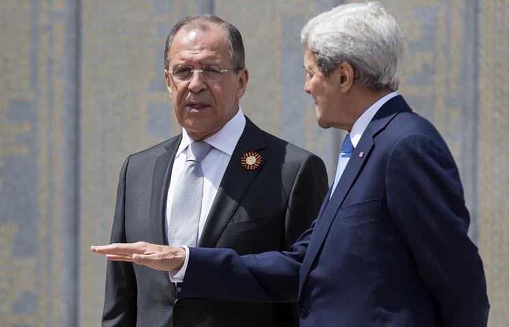 Встреча Сергея Лаврова и Джона Керри в Сочи