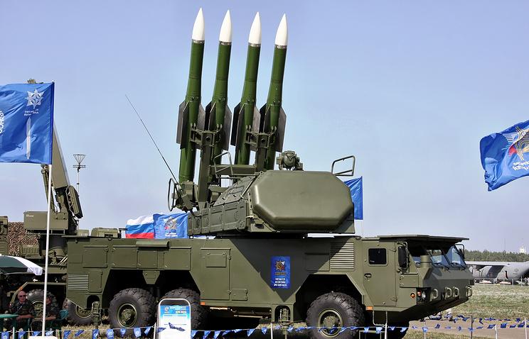 """Ракетный комплекс """"Бук-М2"""""""