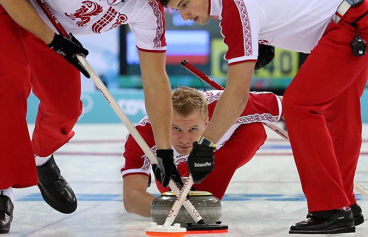 Игроки сборной России по керлингу