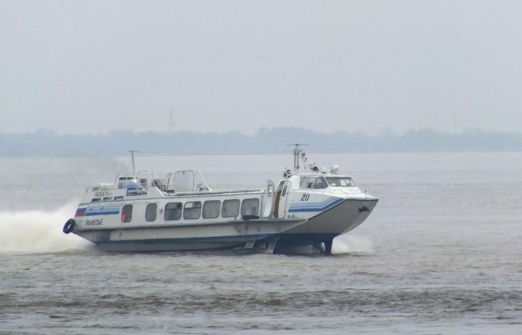 """Пассажирское судно типа """"Полесье"""""""