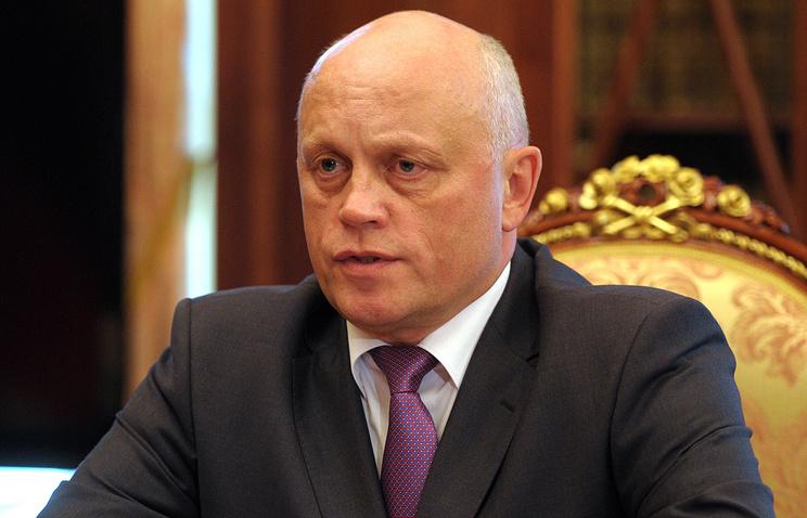 Врио губернатора Омской области Виктор Назаров