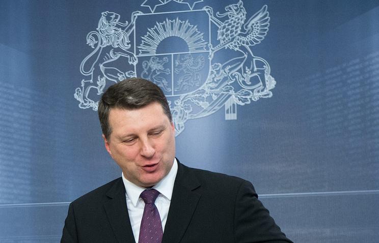 Министр обороны Латвии Раймондс Вейонис