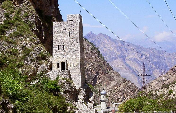 Гимринская башня, Дагестан