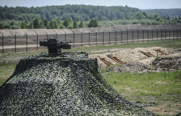 На границе Украины с Россией