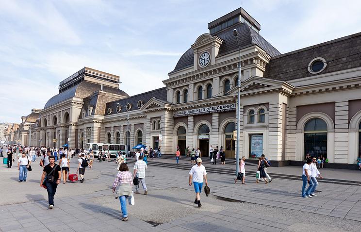 Здание Павелецкого вокзала