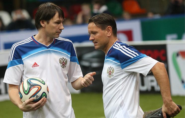 Егор Титов и Дмитрий Аленичев (слева направо)