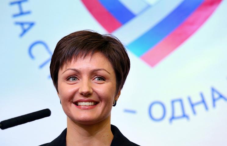 Генеральный секретарь Олимпийского комитета России Анастасия Давыдова