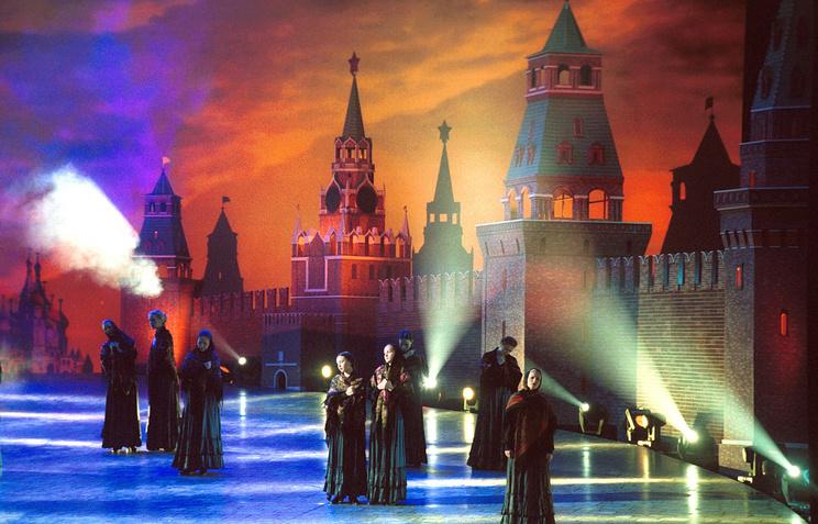 Выступление Государственного академического хора имени Пятницкого