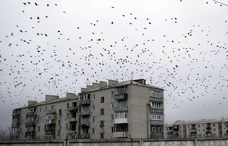 Город Попасная в ЛНР