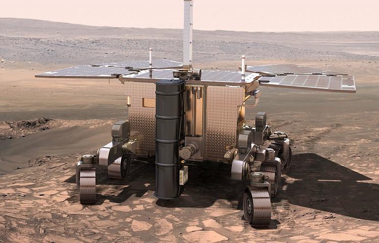 """Космический аппарат миссии """"ЭкзоМарс"""""""