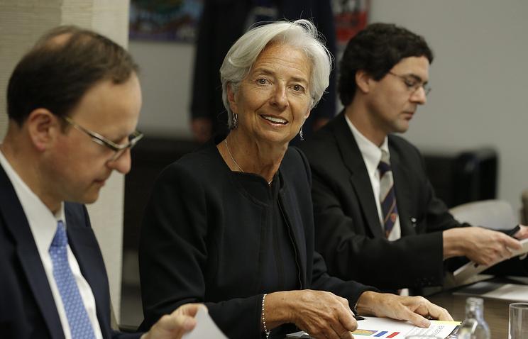 Визит главы МВФ Кристин Лагард в Люксембург