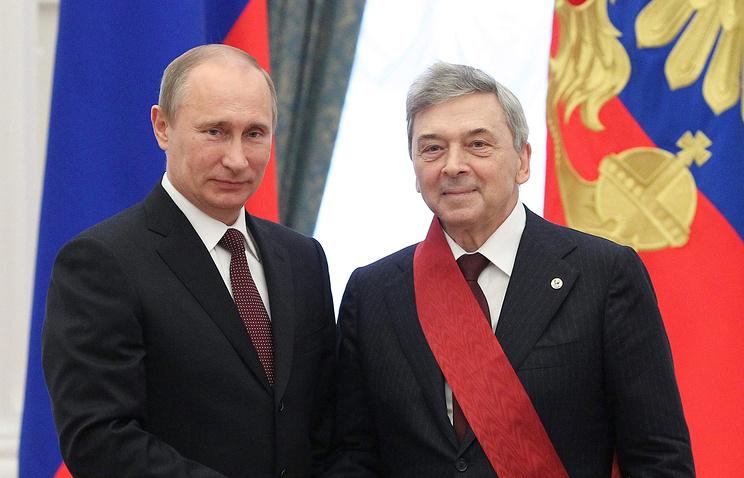 Владимир Путин и  Иван Дедов