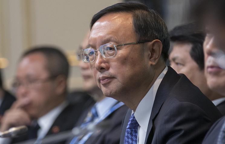 Член Государственного совета Китая Ян Цзечи