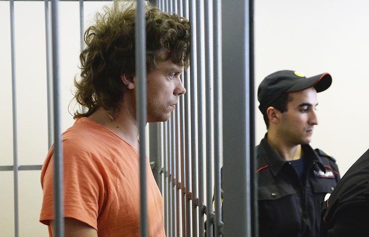 Один из обвиняемых по делу об угоне спортивного Як-52 Илья Кудряшов