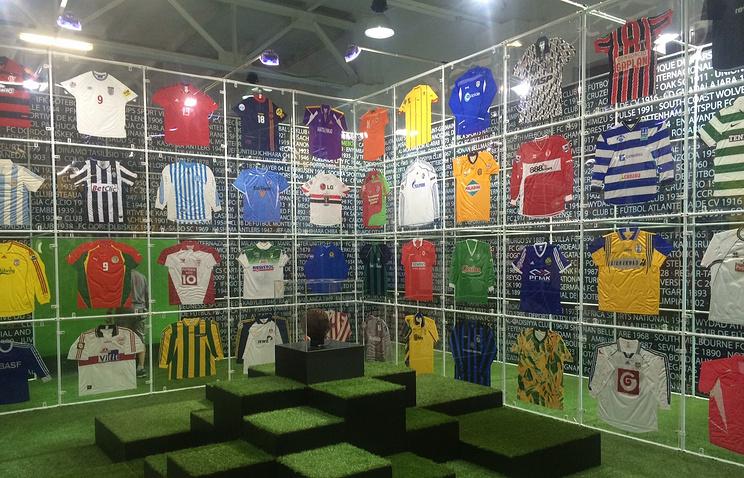 """Выставка """"Гол! История мирового футбола"""""""