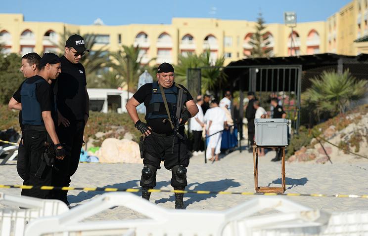 Место нападения на туристов в городе Сус