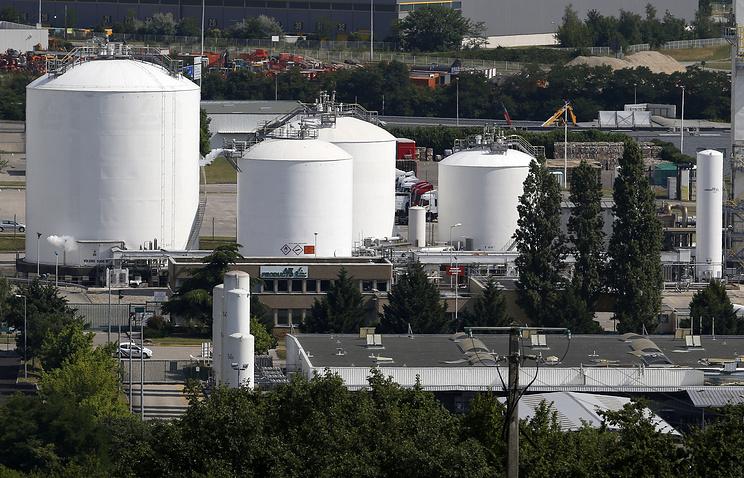 Завод близ Лиона, где произошел теракт