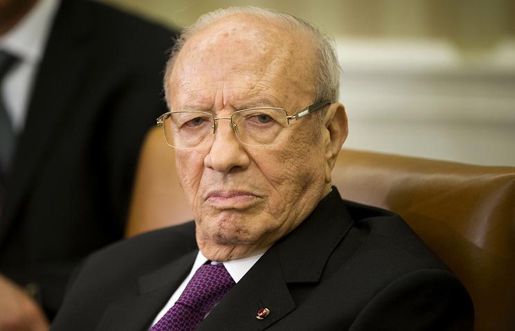 Президент Туниса Беджи Каид Эс-Себси