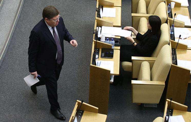 Вице-спикер Госдумы Андрей Исаев
