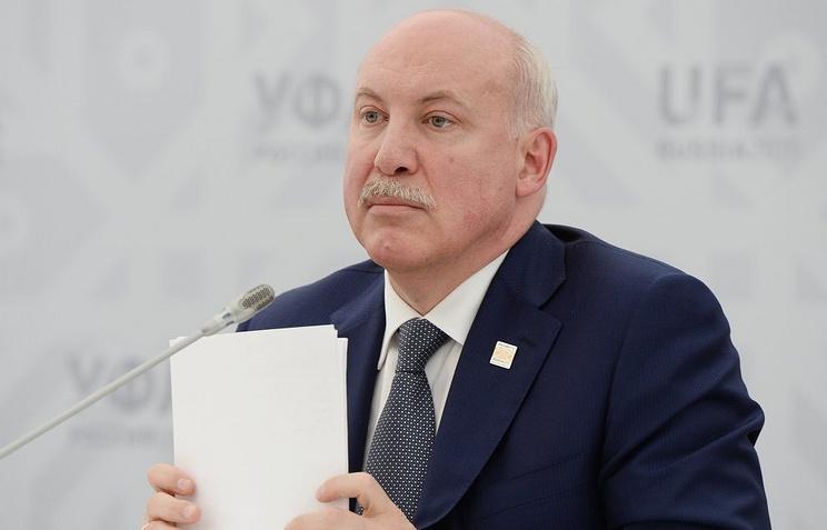 Генеральный секретарь ШОС Дмитрий Мезенцев