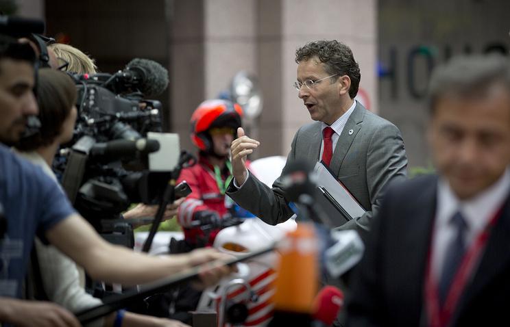 Глава Еврогруппы, министр финансов Нидерландов Йерун Дейсселблум