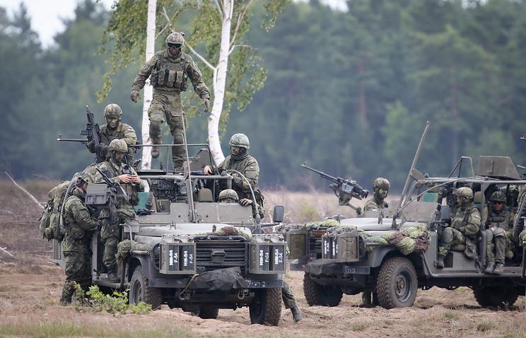 Военные учения НАТО Noble Jump 2015 в Польше